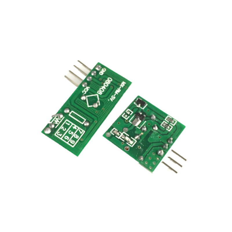 433mhz RF transmitter and receiver