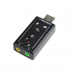 Звукова карта USB Sound Card 7.1
